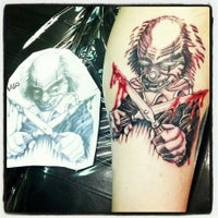Photo taken at Mind Crusher Tattoo by Kevin O. on 3/8/2013