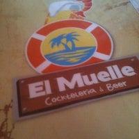 Photo taken at El Muelle - Cockteleria & Beer by David P. on 3/30/2013