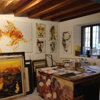 Photo taken at La Cornice by Filippo D. on 12/15/2012
