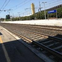 Photo taken at Stazione FS San Bonifacio by paolo r. on 8/1/2013