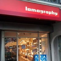 Photo taken at Lomography Gallery Store Singapore by hisham m. on 10/22/2014