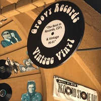 Photo taken at Groovy Records by Tom H. on 5/27/2017