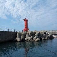 Photo taken at 모슬포항 by Daya on 9/28/2012