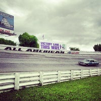 Photo taken at Nashville Fairgrounds Speedway by Jeff L. on 7/6/2013