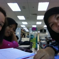 Photo taken at UMS Library by Lucita F. on 11/27/2012