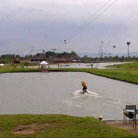 Photo taken at Camsur Watersports Complex (CWC) by Rica M. on 8/22/2013