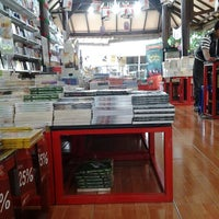 Photo taken at Togamas Bookstore by Rena r. on 11/23/2012