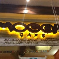 Photo taken at Mooon Cafe by Rey S. on 10/24/2012