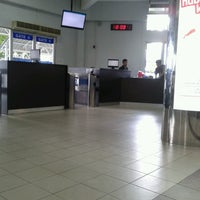 Photo taken at Immigration Check Point Ferry Terminal Batam Centre by Aseh Bryan A. on 3/22/2013