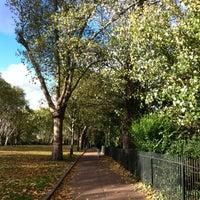 Photo taken at Bishop's Park by Michael B. on 11/3/2012