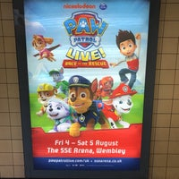 Photo taken at Manor House London Underground Station by Juston W. on 7/2/2017