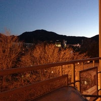 Photo taken at Millennium Harvest House Boulder by Amy A. on 4/28/2013