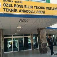 Photo taken at Özel Batman Bilim Teknik Koleji by Yakup T. on 9/3/2016