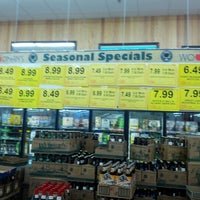 Photo taken at Woodman's Liquor Store by Andy B. on 9/14/2012