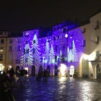 Photo taken at Piazza dell'Anfiteatro by Cristina B. on 12/23/2012