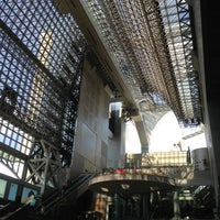 Photo taken at Kyoto Station by Chris C. on 6/7/2013