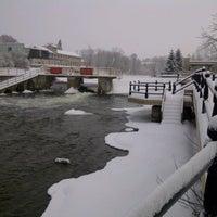 Photo taken at Trent-Severn Waterway Lock 33 - Lindsay by Richard H. on 12/26/2013