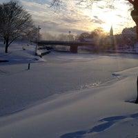 Photo taken at Trent-Severn Waterway Lock 33 - Lindsay by Richard H. on 2/10/2013