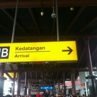 Photo taken at Terminal 1B by Rizkyansyah T. on 3/2/2013