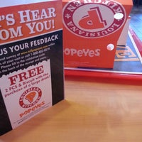 Photo taken at Popeye's by Nick W. on 7/18/2014