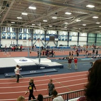 Photo taken at Multi-Sport Facility Horace Ashenfelter Indoor Track by Nick W. on 1/7/2016
