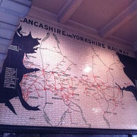 Photo taken at Manchester Victoria Railway Station (MCV) by Simon A. on 3/2/2013