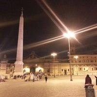 Foto tomada en Piazza del Popolo por Gil D. el 3/1/2013