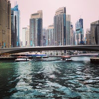 Photo taken at Dubai Marina Walk by Emerson P. on 4/11/2013