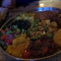 Photo taken at Queen Sheba Ethopian Restaurant by Rod M. on 10/15/2012
