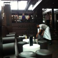 Photo taken at Café Sydney by Olivier V. on 12/19/2012