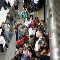 Photo taken at Metrô-DF - Estação Central by Alice S. on 6/13/2013