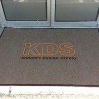 Photo taken at Koncept Design Studio by Jacob G. on 9/16/2013
