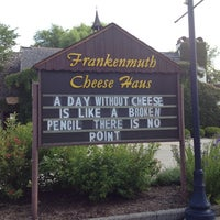 Photo taken at Frankenmuth Cheese Haus by Thetechdaddy on 8/12/2013
