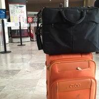 Photo taken at International Departures by Karla M. on 2/28/2013