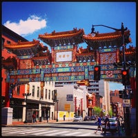 Photo taken at Chinatown Friendship Archway by Alex S. on 4/20/2013