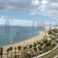 Photo taken at Poseidon Hotel by Geronimakis M. on 11/11/2012
