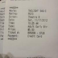 Photo taken at Pierce Point Cinema 10 by Stephanie A. on 11/17/2012
