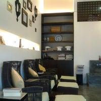 Photo taken at Manos Nail Lounge by TJ on 10/16/2012
