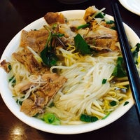 Photo taken at Pho Bac by Pricilla W. on 12/15/2013