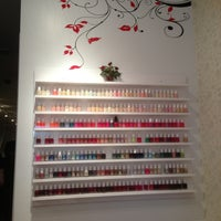 Photo taken at Rouge Nails & Spa by Pricilla W. on 8/11/2013