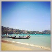 Photo taken at Patong Beach by Kurt R. on 3/4/2013