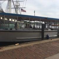 Photo taken at Water Taxi Landing 2 - Harborplace by Kortney B. on 9/21/2016