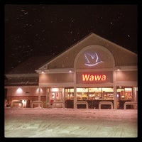 Photo taken at Wawa - Temporarily Closed by Ed H. on 2/13/2014