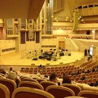 Снимок сделан в Московский международный дом музыки (ММДМ) пользователем Константин Б. 3/7/2013