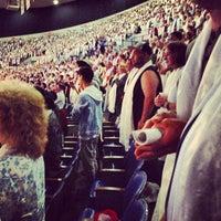 Photo taken at Veterans Memorial Coliseum by Kristin B. on 5/12/2013