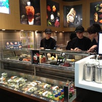 Photo taken at Sushi Shop by Carole G. on 10/4/2012