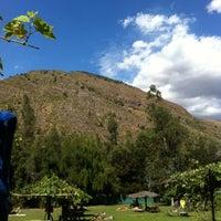Photo taken at Camping el Toyo by Carolina on 2/18/2013