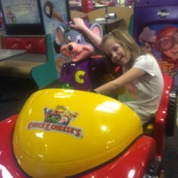 Photo taken at Chuck E. Cheese's by Kim S. on 4/4/2015