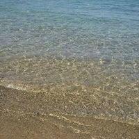 Photo taken at Tuzburnu Plajı by Alya E. on 9/17/2016