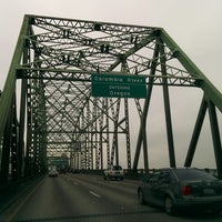 Photo taken at Oregon/Washington State Line by Andrew S. on 12/27/2013